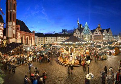 Visitare il mercatino di Natale di Francoforte con i bambini