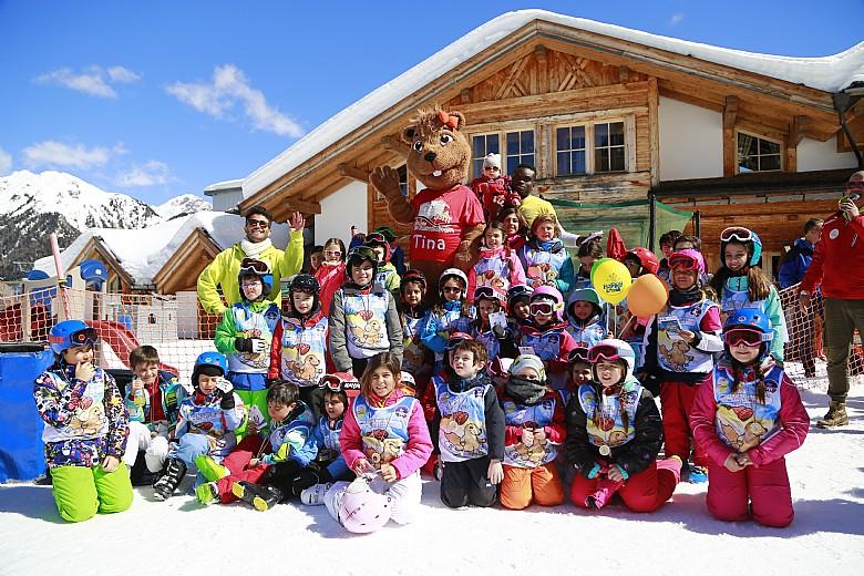 prima neve a moena per bambini