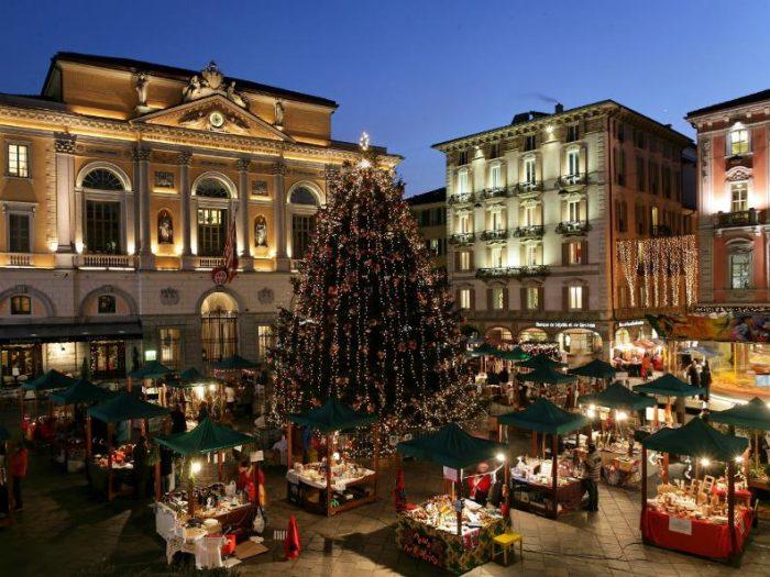 Lugano Natale.Svizzera Ai Mercatini Di Natale Del Canton Ticino 2019 Con