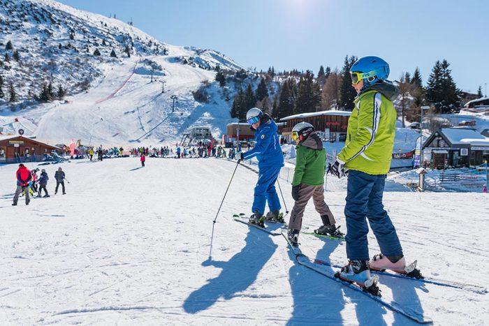 Sciare sul Monte Bondone con i bambini
