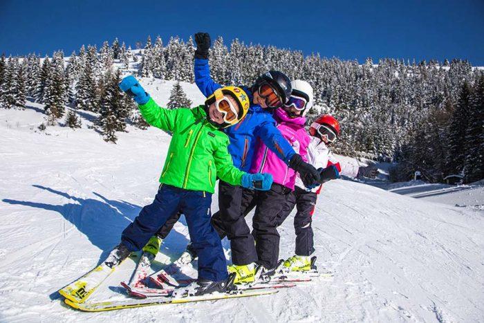 alpe cimbra campo scuola sci bambini