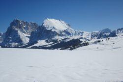 sciare con i bambini all'alpe di siusi