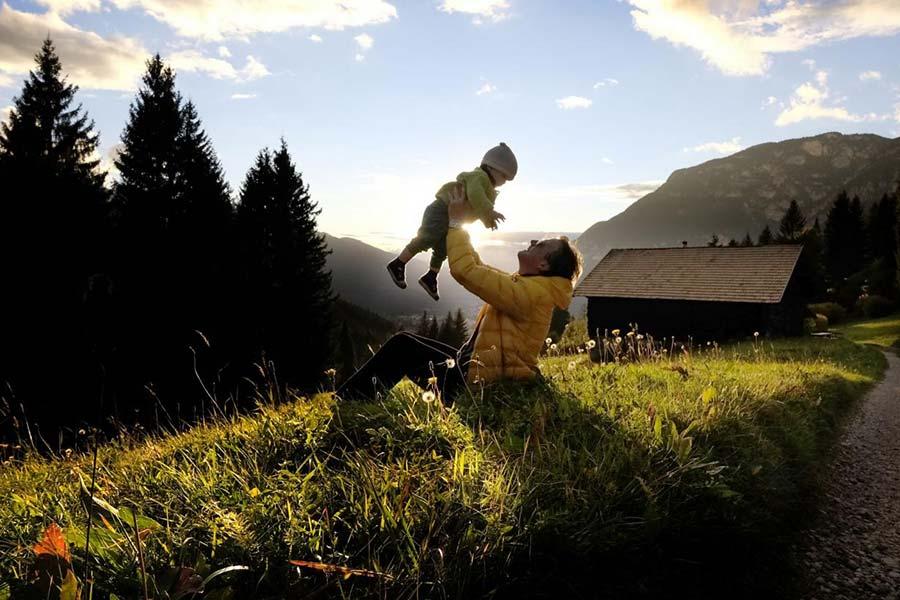 vacanze single con bambini in montagna