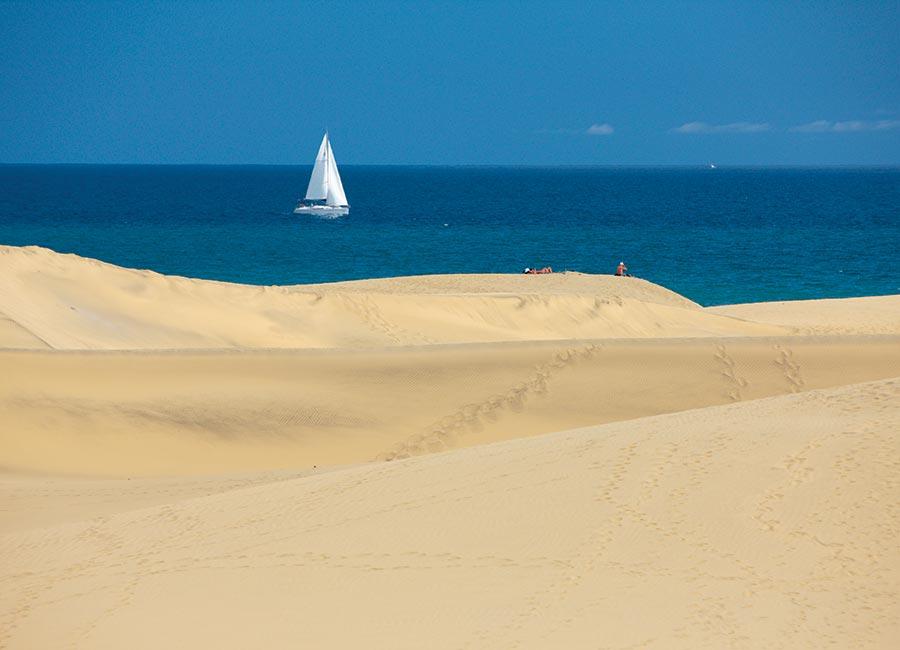 Isole Canarie Dune di Maspalomas Gran Canaria