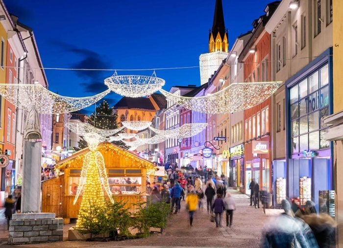 mercatino di natale di Villach Austria Carinzia