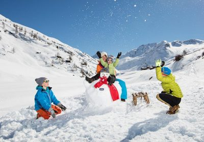 sciare con i bambini in valtellina