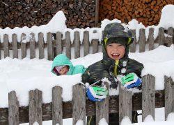 inverno con i bambini in Osttirol Austria