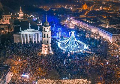 Natale e capodanno con i bambini a Vilnius Lituania