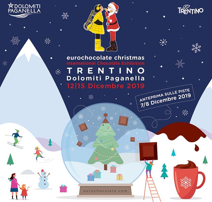 Eurochocolate Christmas 2019 Dolomiti Paganella
