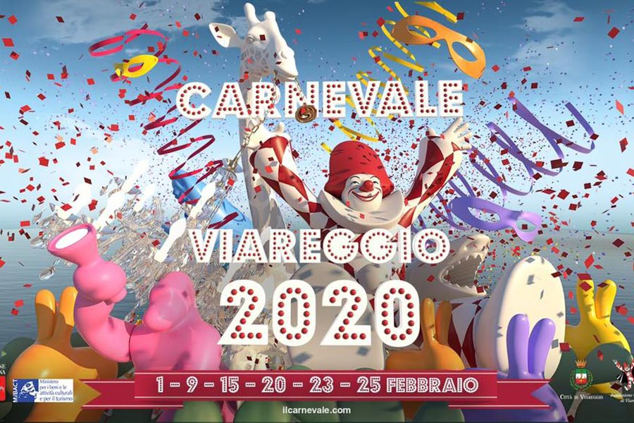 carnevale 2020 Viareggio Toscana