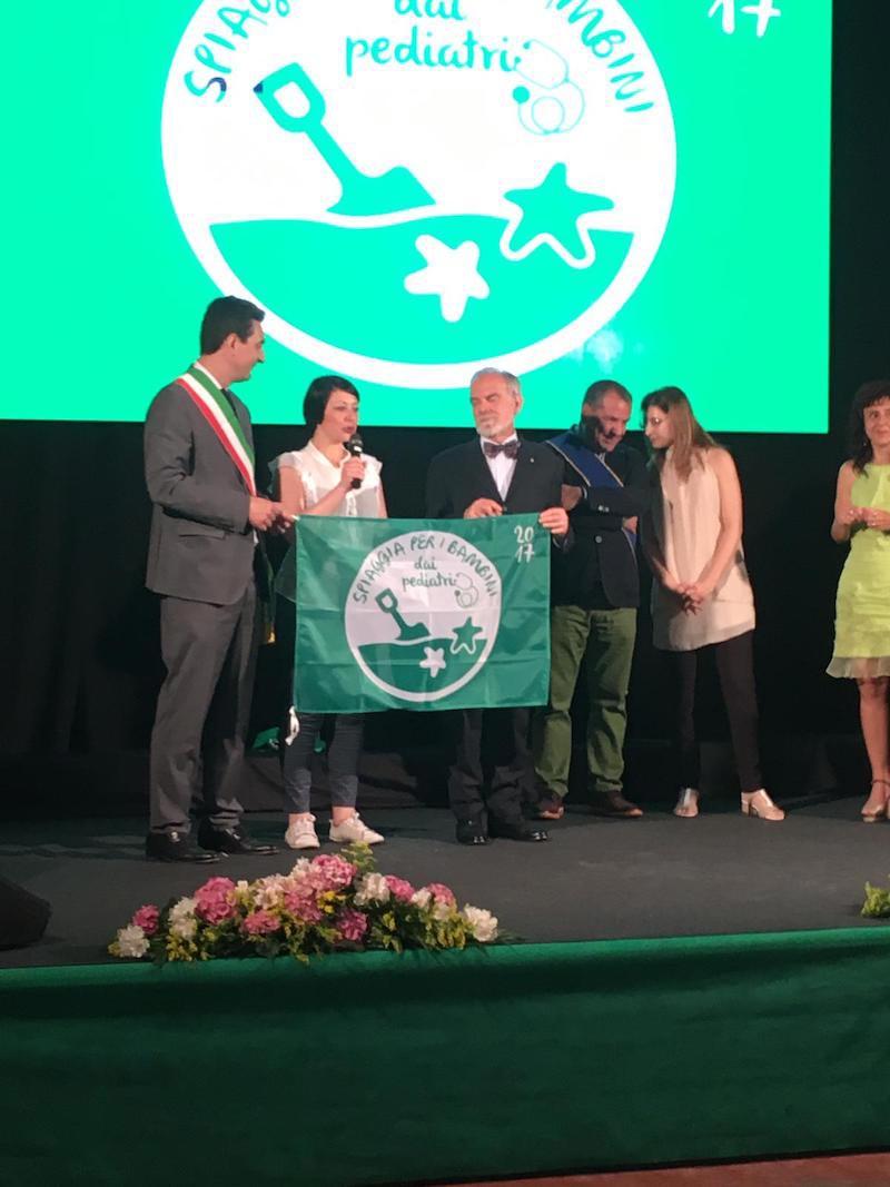 Bandiera Verde a Bibione Italo Farnetani
