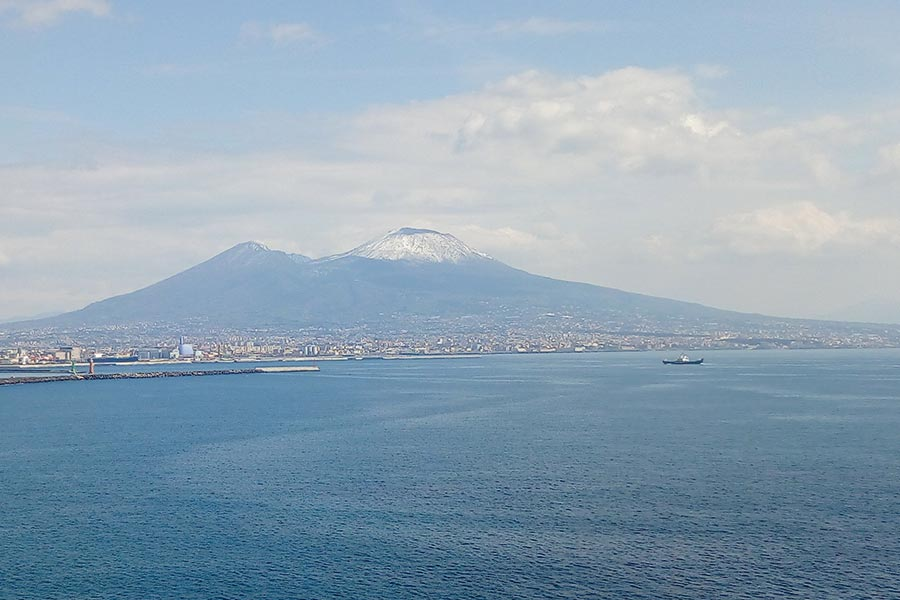 Napoli il Vesuvio