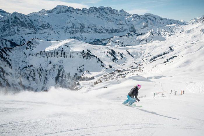 sciare con i bambini in svizzera nel cantone vallese