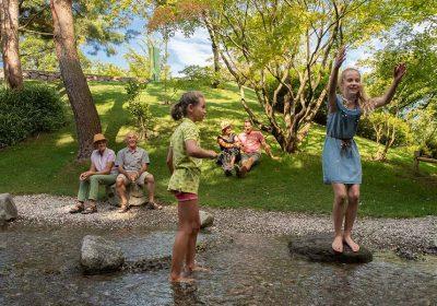 con i bambini ai Giardini di Castel Trauttmansdorff