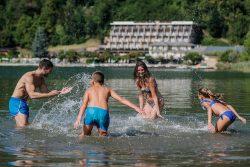 Lago Levico Terme e Valsugana con i bambini